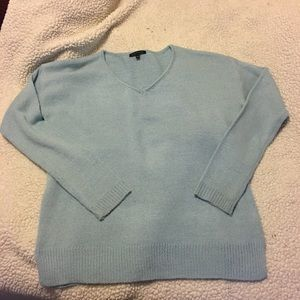 Light blue boxy sweater